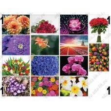 Цветы, картинки для мыла