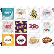 Новый Год 2020, цифры, картинки для мыла