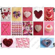 Сердечки, картинки для мыла
