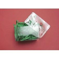 Коробка подарочная прозрачная пластиковая